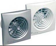 Kleinraum-Ventilator SILENT-100 SILVER  CRIZ